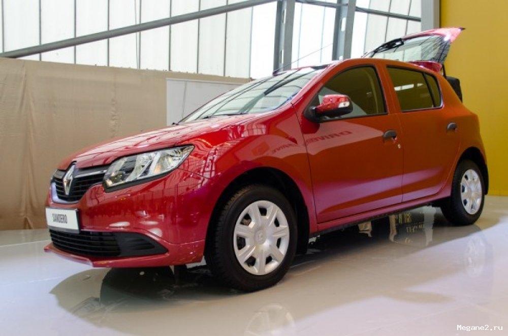 Новый Renault Logan и Sandero в …