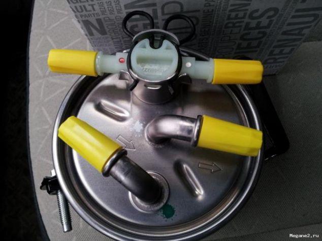 Подробнее замена топливного фильтра